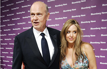 Jeri Thompson and Fred Thompson